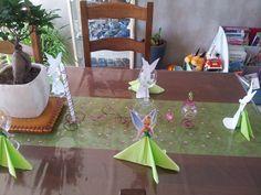 décoration de table fée clochette #4