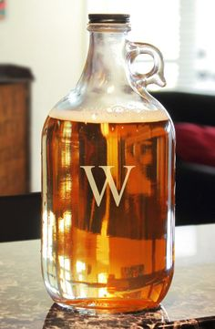 So cool! Personalized Craft Beer Growler