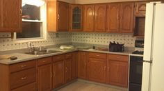 kitchen remodeling on a budget | Kitchen Remodel on a Budget | Proud To $ave.... Beautiful cabinets