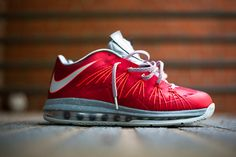"Releasing: Nike Air Max LeBron X Low ""Uni Red"""