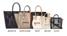 CÉLINE | Know your Céline Luggage tote size