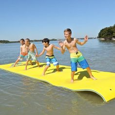 Floating Mat, Floating In Water, Kayak Cooler, Water Pad, Sea Activities, Summer Fun, Swimming Pools, River, House Quotes