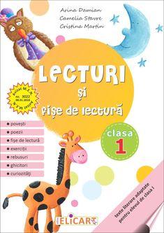 Clasa I : Lecturi şi fişe de lectură. Clasa I Cristina Martin, Kids Education, Kindergarten, Activities, School, Speech Language Therapy, Reading, Rome, Childhood Education