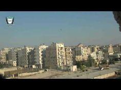 VÍDEOS INÉDITOS DA GUERRA NA SÍRIA - ARMAS IMPROVISADAS - FOGUETE COM BO...