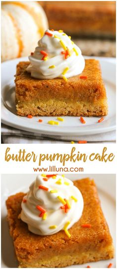 Butter Pumpkin Cake