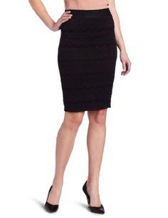 e1873bfe28243 D.E.P.T. Women s Heavy Lace Pencil Skirt « Clothing Impulse Black Lace Skirt