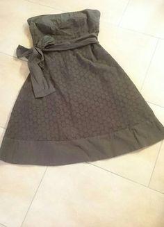 Kaufe meinen Artikel bei #Kleiderkreisel http://www.kleiderkreisel.de/damenmode/kurze-kleider/142605095-braunes-tragerloses-kleid