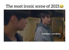 Korean Drama Songs, Korean Drama Funny, Korean Drama List, W Two Worlds, Kdrama Memes, Bts Book, Cute Stories, Cute Song Lyrics, Videos Funny