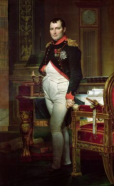 the emperor napoleon in his study at the tuileries by jacques louis david If you're behind a web filter, please make sure that the domains kastaticorg and kasandboxorg are unblocked.