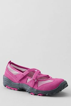 Girls' Trekker Mary Jane Shoes from Lands' End
