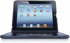 The Best iPad Keyboard on the market.  You can use it as a stand and play Angry Birds or watch a movie.  Type on it like a laptop, or hold it in your hand like normal.