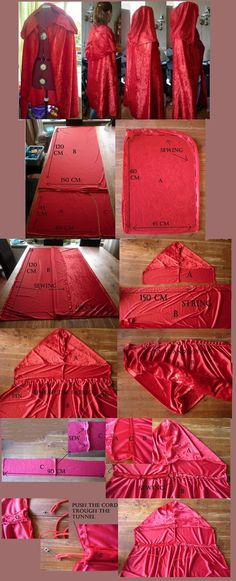 Most basic (and useful) Cape pattern. I usually go for a smaller hood, but with ...
