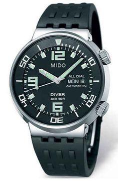 Mido All Dial Diver
