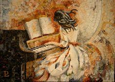Mosaic by by the Italian Mosaic Artist Luigi Perotti