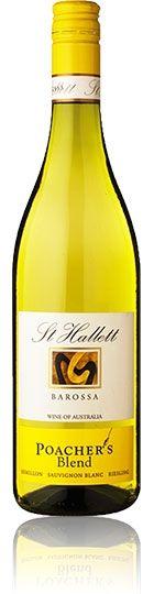 St Hallett Barossa, wine of Australia. Semillon Sauvignon Blanc Poachers blend