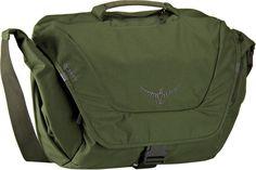 Osprey Flap Jack Courier II Peat Green (innen: Orange) - Notebooktasche   Tablet