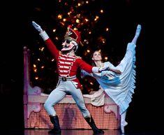 Soloist Allison Miller as Clara in Houston Ballet's The Nutcracker. Photo by Amitava Sarkar