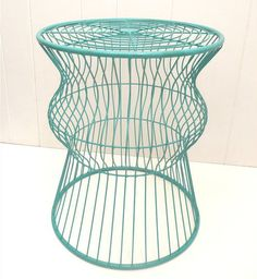 Friday Favorites: Wire Table, Model Ship & Stools The Friday Afternoon Scavenger