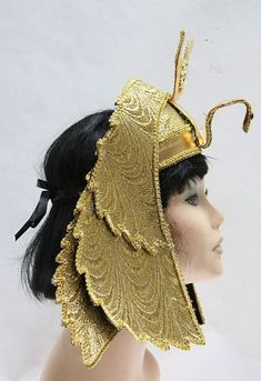 Add to your Egyptian costume or Cleopatra costume with this deluxe Egyptian Headpiece. Ancient Egyptian Clothing, Ancient Egyptian Costume, Egyptian Era, Egyptian Fashion, Ancient Greek, Ancient Egypt Fashion, Egyptian Women, Cleopatra Headdress, Egyptian Headpiece