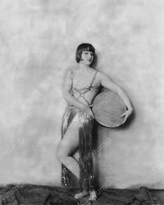 Louise Brooks Showgirl Vintage 8x10 Reprint Of Old Photo 3
