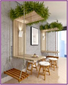 Ideas For Design Furniture Shop Deco Deco Restaurant, Outdoor Restaurant Patio, Coffee Shop Design, Interior Design Coffee Shop, Interior Design Plants, Interior Shop, Best Interior Design, Interior Ideas, Restaurant Interior Design
