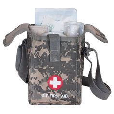 Fox Outdoor Products Platoon First Aid Kit Terrain Rubberized Digital >>> Be sure to check out this awesome product.-It is an affiliate link to Amazon. #CampingSafetyandSurvivalEquipments