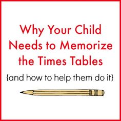 I'm going to start this post by honestly telling you that math is not my forte. I'm not coming at this post from a math background or because I have researched the finer points of upper level math. I come at this as a homeschool mom who has realized thattimes tables are crucial - so muc