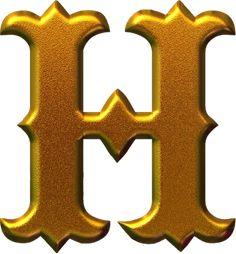 ® Gifs y Fondos Paz enla Tormenta ®: IMÁGENES DE MOLDES DE LETRAS MAYÚSCULAS: COLOR DORADO Cool Alphabet Letters, Alphabet Design, Alphabet For Kids, Gold Letters, Alphabet And Numbers, Alphabet Fonts, Graffiti Lettering Fonts, Lettering Design, M & M Chocolate