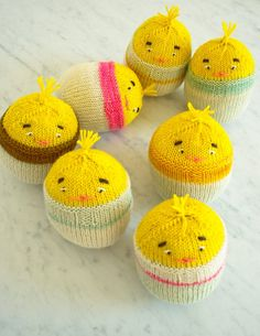 Early spring, with its skipping lambs and bobbing daffodils, is certainly a good time for whimsy. And Easter, with its symbol-rich traditions, is definitely a good time for whimsical knit chicks!  Like all new life at this time of year, these funny little chicks are spirited with the wonder of birth, blinking and peeping, curious and eager. Sounds a little like us battered northerners, emerging from the dark depths of a long winter, intent on what's next!  Soft and squishy, roly and poly,...