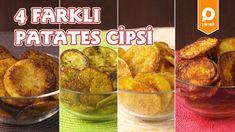 Baked Potato Chips 4 Ways - YouTube