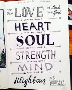 Love Heart Soul Strength Mind