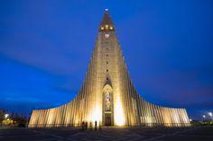 The Church of Hallgrímur, Reykjavik, Iceland