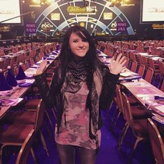 Me before the #madness at #allypally #WHdarts
