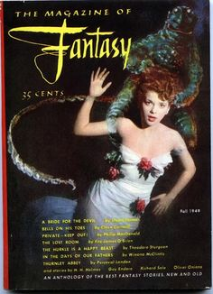 The Magazine of Fantasy (first issue), Fall 1949