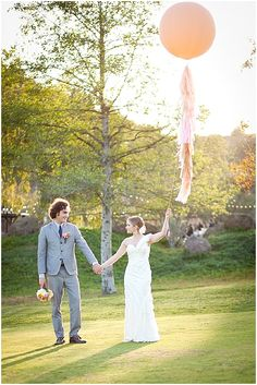 Pretty + Cool Wedding Balloons ~ Wedding Ideas