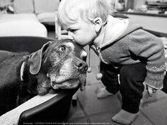 Dog kiss - it's kissing day! by kujaja jaja, via 500px