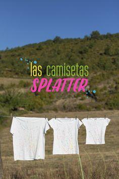 "Las camisetas ""splatter"""