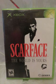 Scarface: The World is Yours (Microsoft Xbox, 2006) Complete Rated M Black Label #Namco