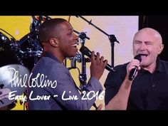Phil Collins - Easy Lover featuring Leslie Odom Jr. (Live at the 2016 US Open) - YouTube