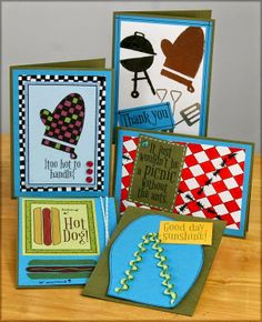 Club Scrap Creates: Picnic Greetings to Go Guest Artist