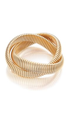 Whitney 24K Gold plated twist bracelet -  Fall 2013 ETCETERA - www.etcetera.com