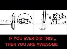 lol, derp, funny, pen, bored