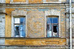 Abandoned Windows Stock Photos - Image: 30541763