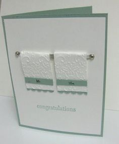 Wedding Card - how cute is this!