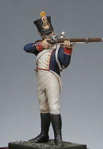 Fuciliere della fanteria di linea francese