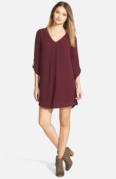 Lush+'Karly'+Shift+Dress+(Juniors)+available+at+#Nordstrom