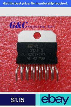 2PCS IC STA540 ST 15-Multiwatt AMP AUD DUAL//QUAD MULTIWATT15 NEW