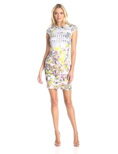 3d9ff5d010811a Pancha Window Blossom Sheath Dress by Ted Baker