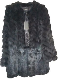 f*ck yeah fur - Gerard Darel Fox Fur Coat by Gerard Darel