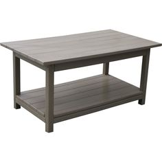 Share and Save $5 Off Any Order Over $99. (excludes a few products) Eagle One Lexington Indoor / Outdoor Coffee Table Made from Recycled Plastic Poly-Lumber #dynamichome